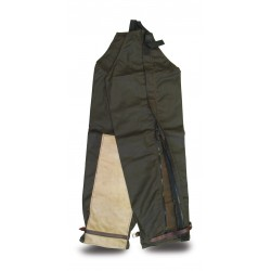 Oil Skin / Leather Side Opening Leggings