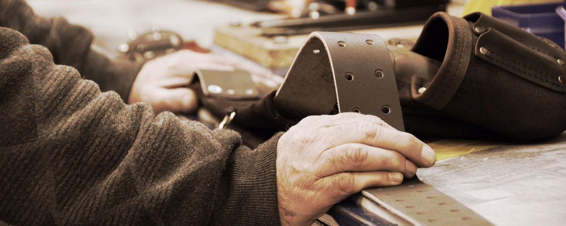 Taurus Leather Belt Craftmanship