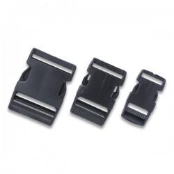 Replacement Heavy Duty Black Nylon Buckle