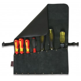 Leather Chisel/Tool Roll 7 Pocket