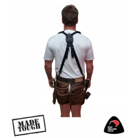 Reverse Fit Tool Belt Braces With Snaps